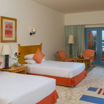 luxury room with sea view sinai hotel